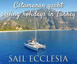 Catamaran yacht sailing holidays in Turkey